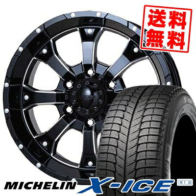235/60R16 MICHELIN ミシュラン X-ICE XI3 エックスアイス XI-3 MKW MK-46 M/L+ MKW MK-46 M/L+ スタッドレスタイヤホイール4本セット