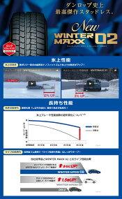 215/60R1796QDUNLOPダンロップWINTERMAXX02ウインターマックス02冬スタッドレスタイヤ単品1本価格《2本以上ご購入で送料無料》
