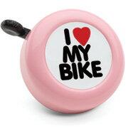 ■エレクトラ純正 ベルI Love My Bike アイ・ラブ・マイ・バイク ピンク