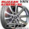 【205/55R16】BRIDGESTONE BLIZZAK VRX(ブリヂストン ブリザック VRX)16X6.5J 5穴 PCD:114.3マナレイ/ユーロスピードG10(4本セット)