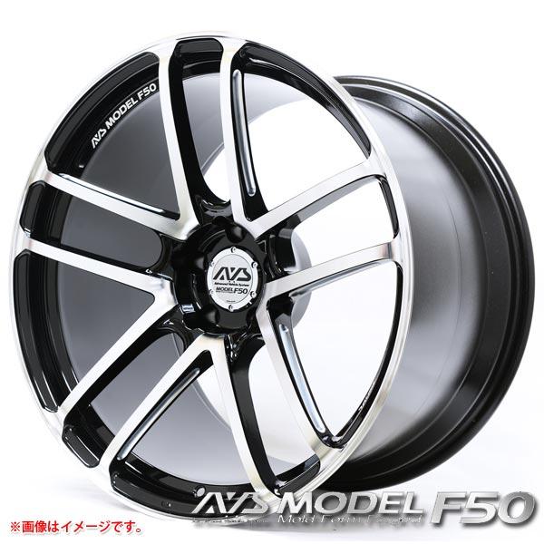 AVS モデル F50 9.5-20 ホイール1本 AVS MODEL F50