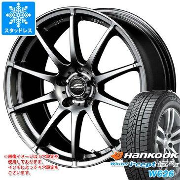 スタッドレスタイヤ ハンコック ウィンターアイセプト IZ2エース W626 205/60R16 96T XL & シュナイダー スタッグ 6.5-16 タイヤホイール4本セット 205/60-16 HANKOOK Winter i cept IZ2A W626