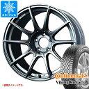 スタッドレスタイヤ コンチネンタル バイキングコンタクト7 205/50R17 93T XL & SSR GTX01 7.0-17 タイヤホイール4本セット205/50-17 CONTINENTAL VikingContact 7