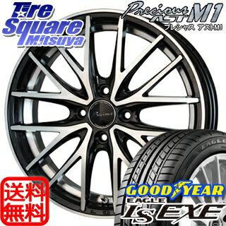 グッドイヤー EAGLE イーグル LS EXE サマータイヤ 165/45R16 HotStuff Precious AST M1 プレシャス アスト ホイールセット 4本 16インチ 16 X 5 +45 4穴 100