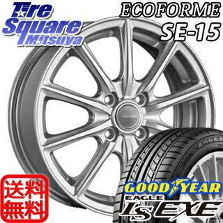 グッドイヤー EAGLE イーグル LS EXE サマータイヤ 175/65R15ブリヂストン ECOFORM エコフォルム SE-15 ホイール 4本セット 15インチ 15 X 5.5 +42 4穴 100
