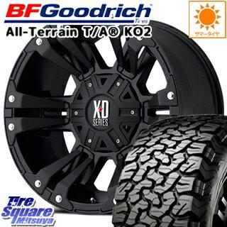 タイヤ・ホイール, サマータイヤ・ホイールセット BF Goodrich TA TA KO2 27555R20 KMC XD822 MONSTER2 4 20 20 X 9 18 6 139.7