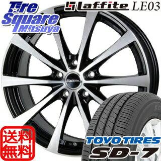 TOYOTIRES トーヨー タイヤ SD-7 サマータイヤ 215/50R17HotStuff Laffite ラフィット LE-03 ホイール 4本セット 17インチ 17 X 7 +55 5穴 114.3