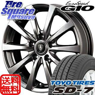 TOYOTIRES トーヨー タイヤ 国内メーカー SD-7 サマータイヤ 215/50R17 MANARAY EUROSPEED ユーロスピード G10 ホイールセット 4本 17インチ 17 X 7 +50 5穴 114.3