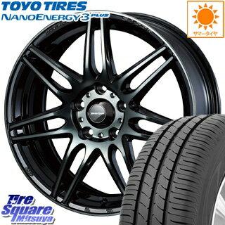 タイヤ・ホイール, サマータイヤ・ホイールセット TOYOTIRES 3 NANOENERGY3plus 21540R18 WEDS 73507 SA-77R 18 18 X 8.5J 45 5 100