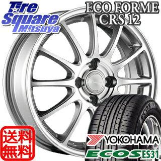 YOKOHAMA ヨコハマ エコス ECOS ES31 サマータイヤ 215/60R16 ブリヂストン ECOFORM エコフォルム CRS12 ホイールセット 4本 16インチ 16 X 6.5 +38 5穴 114.3