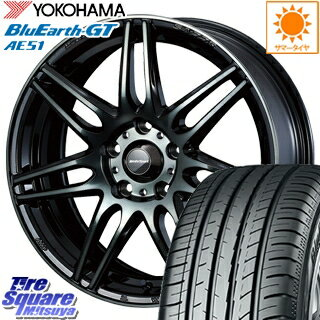 タイヤ・ホイール, サマータイヤ・ホイールセット YOKOHAMA GT AE51 21540R18 WEDS 73507 SA-77R 18 18 X 8.5J 45 5 100