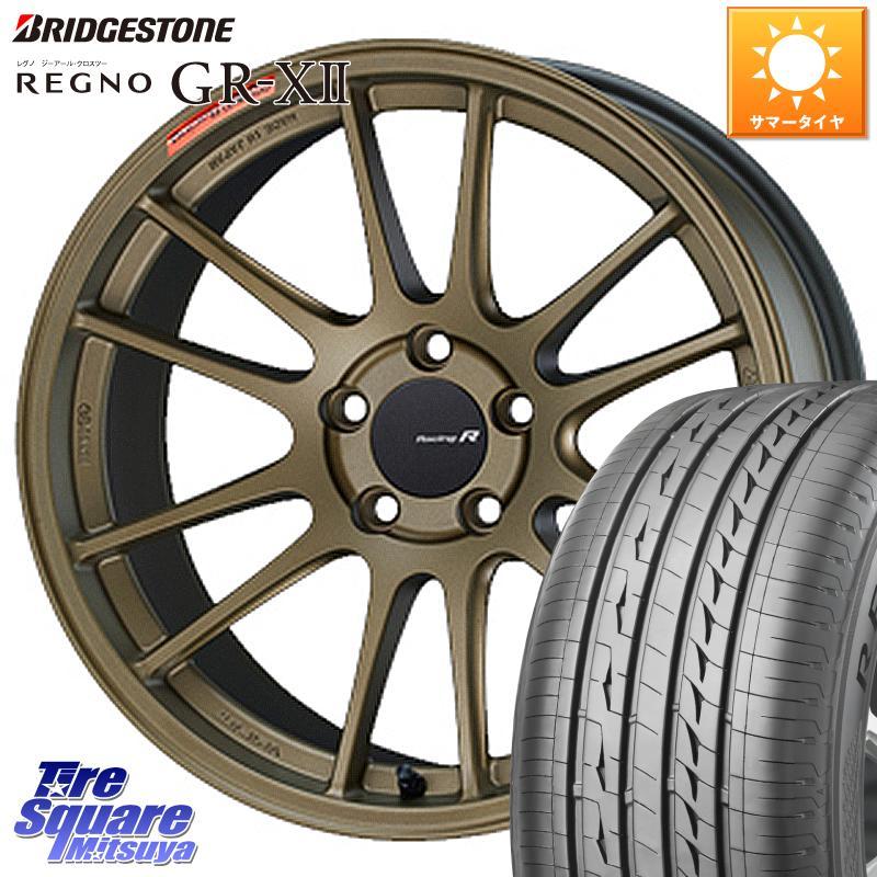 タイヤ・ホイール, サマータイヤ・ホイールセット 52024.51000 RX-8 ENKEI Racing Revolution GTC01RR 18 X 7.5J 45 5 114.3 REGNO GR-X2 GRX2 4 22545R18