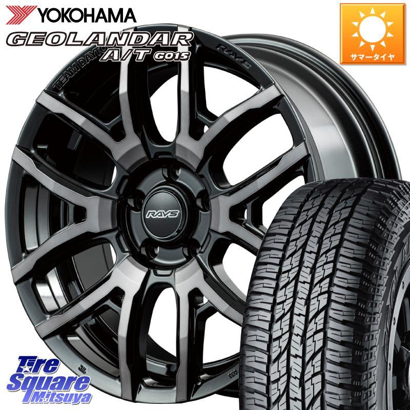 タイヤ・ホイールセット, サマータイヤ・ホイールセット 62024.51000 CX-5 RAYS 8 DAYTONA F6 drive 18 18 X 7.5J 43 5 114.3 YOKOHAMA AT AT G015 23555R18