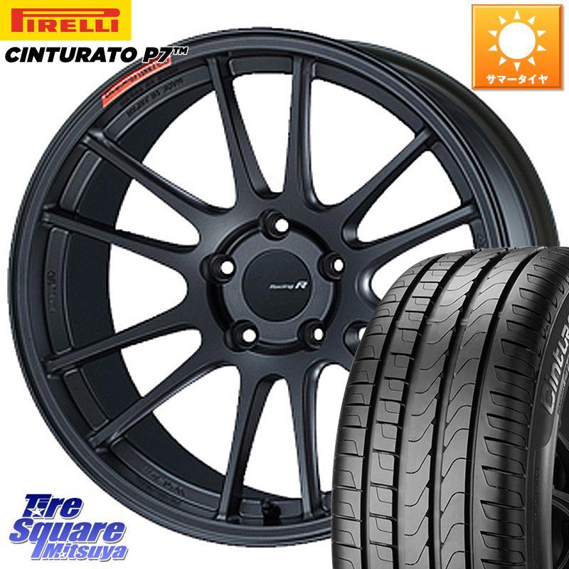タイヤ・ホイール, サマータイヤ・ホイールセット 52024.51000 ENKEI Racing Revolution GTC01RR 18 X 8.0J 45 5 114.3 CinturatoP7 100Y XL 24545R18