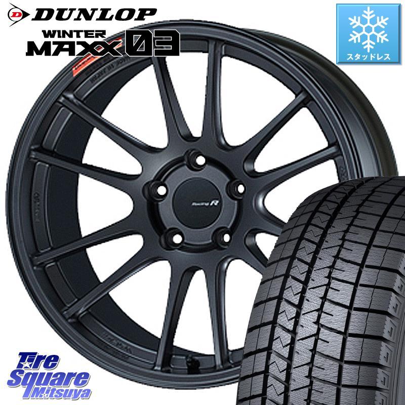 タイヤ・ホイール, スタッドレスタイヤ・ホイールセット 52024.51000 RX-8 DUNLOP 03 WM03 22545R18 ENKEI Racing Revolution GTC01RR 18 X 8.0J 45 5 114.3