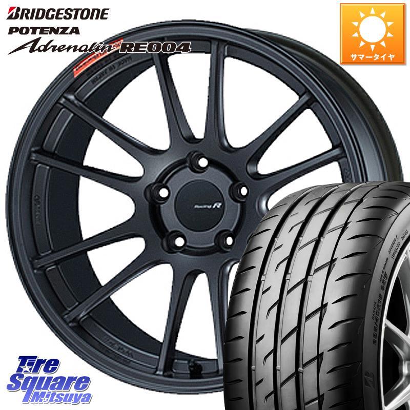 タイヤ・ホイールセット, サマータイヤ・ホイールセット 1020245 ENKEI Racing Revolution GTC01RR 18 X 8.5J 42 5 114.3 RE004 12 22540R18