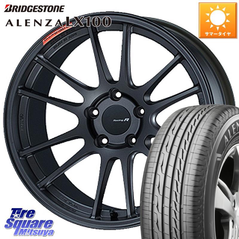 タイヤ・ホイールセット, サマータイヤ・ホイールセット 1020245 ENKEI Racing Revolution GTC01RR 18 X 8.5J 42 5 114.3 ALENZA LX100 12 22555R18