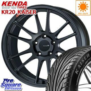 タイヤ・ホイール, サマータイヤ・ホイールセット KENDA KAISER KR20 22540R18 ENKEI Racing Revolution GTC01RR 4 18 X 7.5 45 5 100