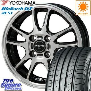 YOKOHAMA ヨコハマ BluEarth-GT AE51 ブルーアース サマータイヤ 195/50R16 MONZA JP STYLE CRAVER ホイールセット 4本 16 X 6 +42 4穴 100