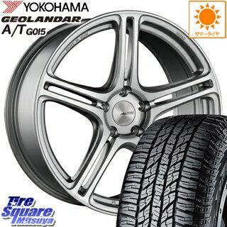 YOKOHAMA ヨコハマ ジオランダー AT A/T G015 サマータイヤ 225/55R18 ブリヂストン Adrenalin アドレナリン SW005 ホイールセット 4本 18インチ 18 X 7.5 +48 5穴 100