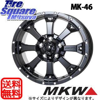 YOKOHAMA ヨコハマ ジオランダー SUV G055 サマータイヤ 235/70R16 MKW MK-46 グロスブラック ホイールセット 4本 16インチ 16 X 7 +42 5穴 114.3
