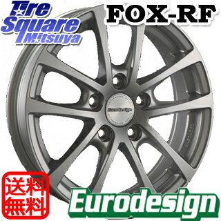 YOKOHAMA ice GUARD6 ig60 アイスガード ヨコハマ スタッドレスタイヤ スタッドレス 215/60R17 阿部商会 EuroDesign FOX-RF ホイールセット 4本 17インチ 17 X 7(VW) +40 5穴 112