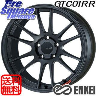 タイヤ・ホイールセット, サマータイヤ・ホイールセット 1020245 ENKEI Racing Revolution GTC01RR 18 X 8.5J 42 5 114.3 TURANZA T005 102Y XL AO 22555R18