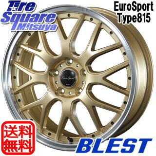 TOYOTIRES トーヨー プロクセス スポーツ PROXES Sport サマータイヤ 225/45R18BLEST Eurosport Type815 ホイール 4本セット 18インチ 18 X 7 +48 5穴 114.3