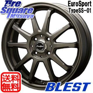 ブリヂストン ECOPIA エコピア NH100C 9月末迄 サマータイヤ 165/60R15 BLEST Eurosport TypeSS-01 ホイールセット 4本 15インチ 15 X 5 +45 4穴 100