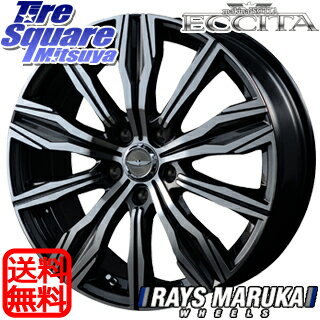 KENDA ケンダ KR-201 サマータイヤ 215/55R17MANARAY makinaISOTTA ECCITA ホイール 4本セット 17インチ 17 X 6.5 +48 5穴 114.3