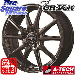 YOKOHAMA ヨコハマ ブルーアース RV-02 ミニバン サマータイヤ 215/45R17MANARAY FINAL SPEED GR-Volt ホイール 4本セット 17 X 7 +55 5穴 114.3