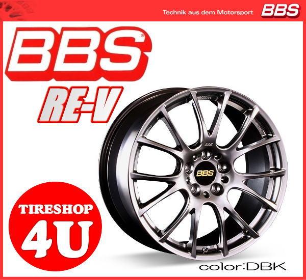 ホイール単品BBS RE-V RE-V067 鍛造 18インチ 18X9.0J 5/120 ET53 DSK DBK BMW E82(リア)