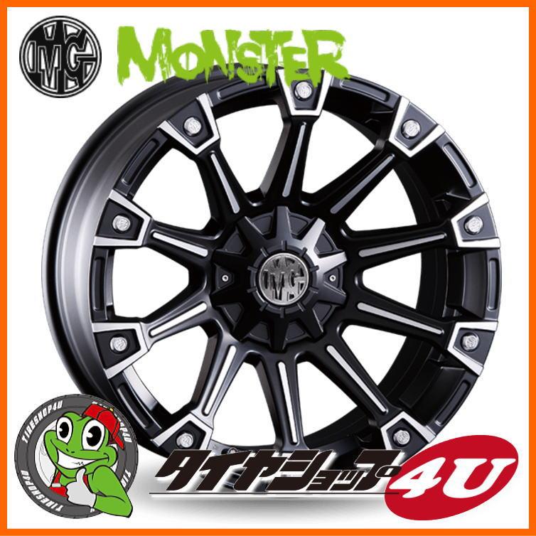 タイヤ・ホイール, サマータイヤ・ホイールセット 20 MG 20x8.5 MONSTA MT 28550R204FJ200JEEP JK