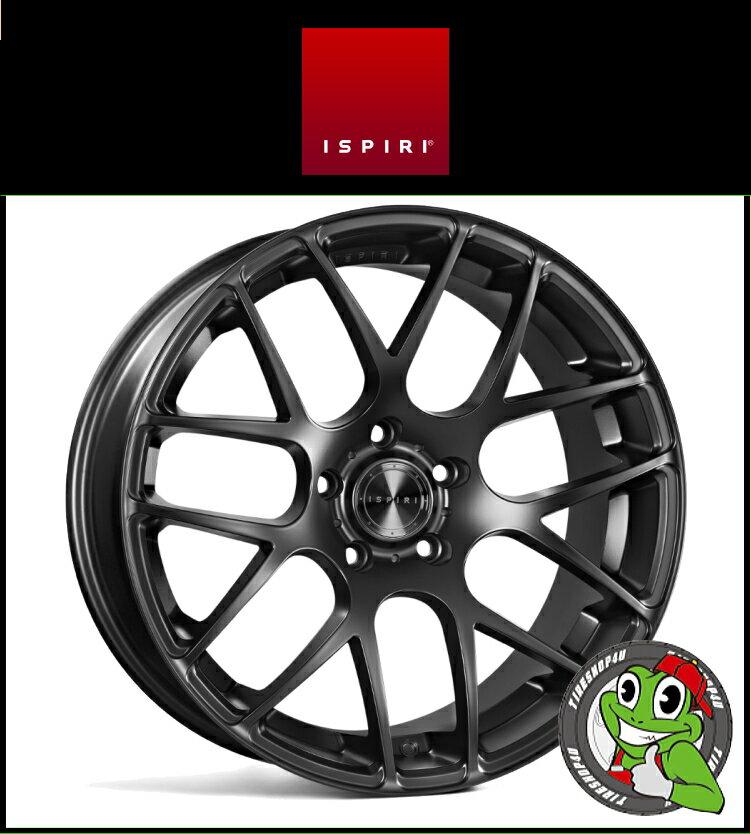 20インチIspiri Wheel ISR1 20×10.0J 5/112 +35 HUB:66.56φMatte Black(マットブラック) 20100 イスピリホイール 新品アルミホイール1本価格 正規輸入品JWL適合品 スタンス Audi A4、A6