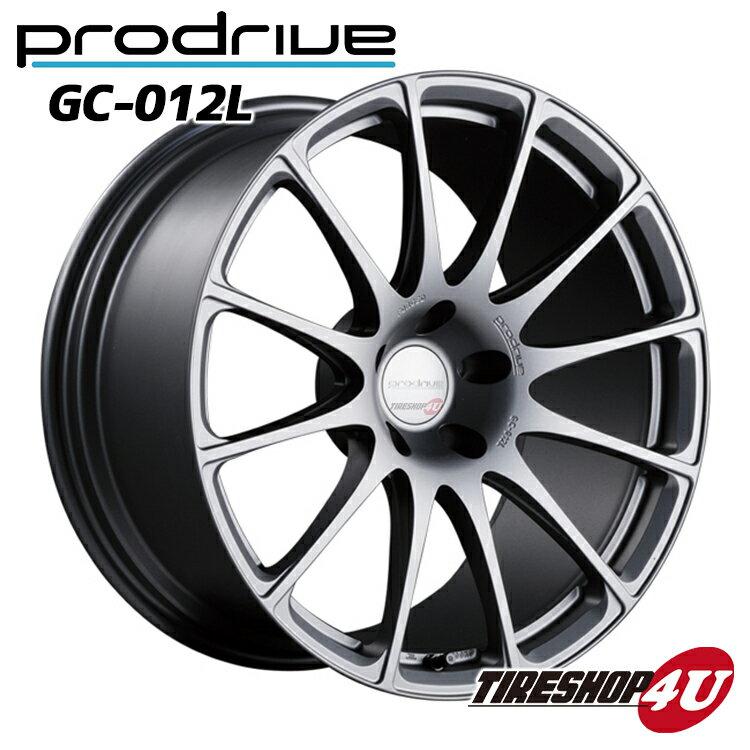 【72時間限定ポイント最大17倍27日9:59迄】1台分4本購入で送料無料 代引き不可 20インチProdrive GC-012L 20×9.5J 5/120 +17 HUB:72.5ΦBB(ブリティッシュブラック) FACE21/DISK D3 鍛造 プロドライブ GC012K 新品アルミホイール1本価格 BMW 取付ボルト付属