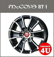 【16インチ】マッコイズ RT-1 16x7.0J 6/139.7 +37 【スーパーブラック/ポリッシュ】【Weds ADVENTURE McCOYS RT1】【200系ハイエース】JWL-T限定955KG規格適合4本購入で送料無料
