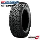 送料無料 新品 タイヤ BFグッドリッチ 245/70R16 All-Terrain T/A KO2 RWL ホワイトレター サマータイヤ オールテレーン 単品 BF Goodrich BFG 245/70-16