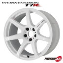 16インチ WORK EMOTION T7R 16×6.5J 4/100 +48WHT(ホワイト...