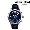TISSOT 腕時計 ティソ 公式 メンズ ピーアールシー200 ブル...