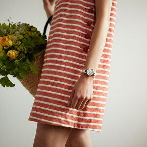 TISSOT腕時計ティソ公式レディースT0942102611101フラミンゴマザーオブパール文字盤レザー