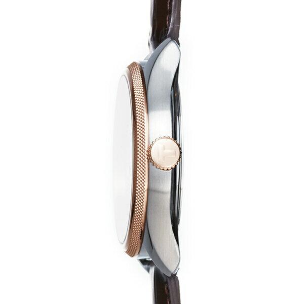 TISSOT 腕時計 ティソ 公式 メンズ  バラード オートマティック COSC パワーマティック80 オートマティック シルバー文字盤 レザー 【 コスク 時計 自動巻き 革ベルト レザーベルト ウォッチ ブランド プレゼント ギフト ビジネス時計 ボーナス 】