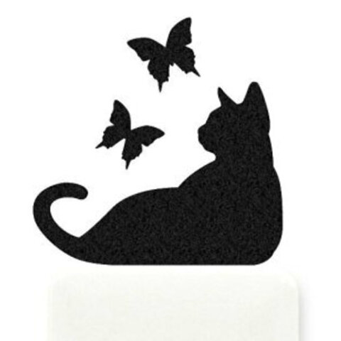 CAT LIFE【蝶】お部屋に癒しのアクセントを♪【メール便】10P03Sep16