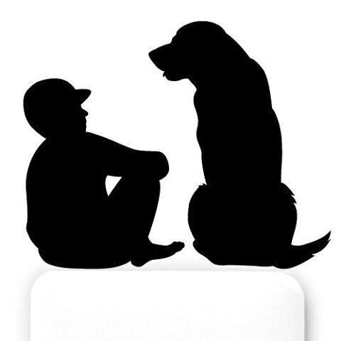 DOG LIFE【人生相談】お部屋に癒しのアクセントを♪【メール便】10P03Sep16