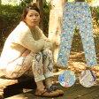 柄レギンスパンツ/CWC-BA-575 /チチカカ公式 TITICACA/【アジアンファッション】レディース