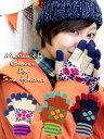 【チチカカ公式】【TITICACA】メヒコタイルスマホ用手袋/ZDWJ-BD-7126【エスニック小物雑貨】