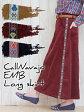 【80%OFF】刺繍 スカート コールナバホ刺繍ロングスカート/ロングスカート コーデュロイ 刺繍 チロリアンテープ レディース ゆったり エスニック アジアン ネイティブ ボヘミアン チチカカ公式 TITICACA DWCBB171