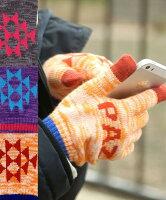 【チチカカ公式】【TITICACA】アシメナバホスマホ用手袋/ZEWJ-BD-7067【エスニック小物雑貨】
