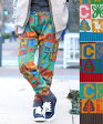 【40%OFF】ブロックキッズニット パンツ fwccc209 /チチカカ公式 TITICACA エスニック アジアン ズボン 毛 ウール ボトムス 柄 カラフル【あす楽】