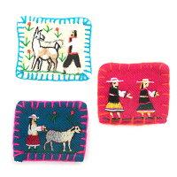 タリスキアライフ刺繍ブローチ