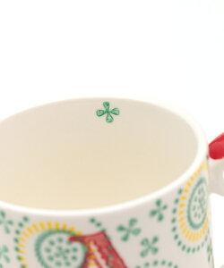 イニシャルスタンプマグカップ